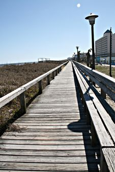 Free Boardwalk Royalty Free Stock Images - 4492309