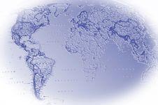 Free Map 3 Royalty Free Stock Photos - 4492438
