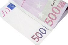 Free Five Hundred Euros Stock Images - 4492714