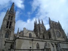 Free Cathedral In Burgos Stock Images - 4492844