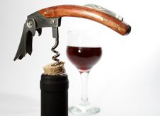 Free Bottleneck And Corkscrew Stock Photo - 4492870