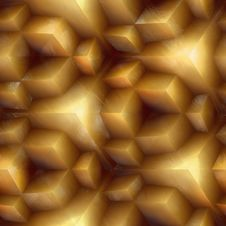 Free Golden Cubes Stock Photo - 4492900