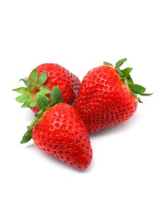 Free Fresh Strawberries Royalty Free Stock Images - 4493049
