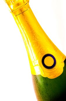 Free A Bottle Of Champagne Stock Photography - 4493662
