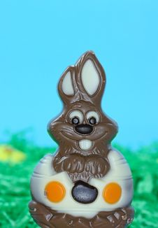 Free Chocolate Easter Bunny Stock Photos - 4493933