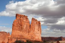 Free Arches National Park 89 Stock Photography - 4494712