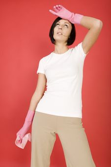 Free I Am Tired A Housework Stock Image - 4494741
