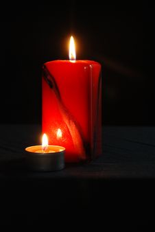 Free Candles Stock Image - 4494851