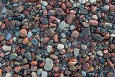 Free Beach Pebbles Royalty Free Stock Photo - 4494865