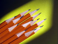 Free Stack Of Pencils Stock Images - 4495954
