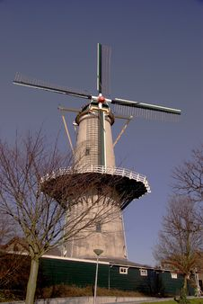 Free Windmill Royalty Free Stock Photos - 4496388