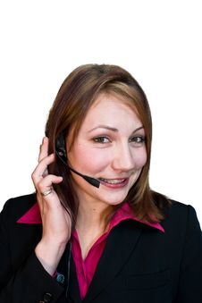 Free Receptionist 2 Stock Photography - 4496422