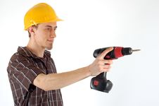 Free Construction Worker Royalty Free Stock Image - 4496686