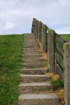 Free Stairway To Sea! Stock Photos - 4496943