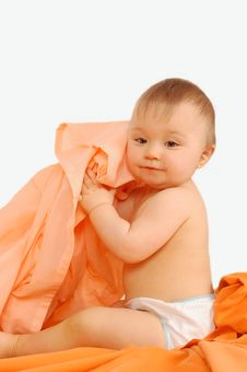Free Happy Baby Girl Royalty Free Stock Photo - 4496945
