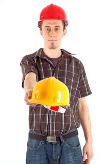 Free Construction Worker Stock Photography - 4497072