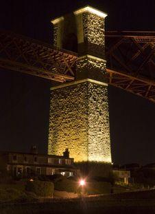 Edinburgh Forth Bridge Stock Photography