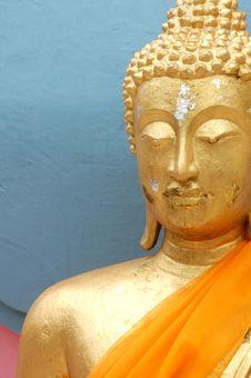 Free Gold Buddha Stock Photo - 4497240