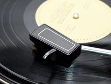 Vinyl Player 2 Royalty Free Stock Photography