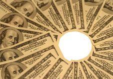 Free Money Background Royalty Free Stock Photography - 4497397