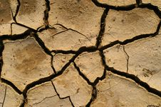 Free Parched Earth Royalty Free Stock Photos - 4497838