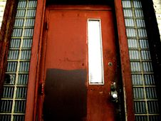 Free Old Red Door Royalty Free Stock Photos - 4498078
