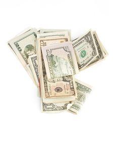 Free American Dollar Bills Stock Image - 4498581