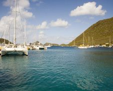 Free Boats In A Bay Stock Photography - 4499322