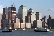 Lower Manhattan New York City USA Royalty Free Stock Photos