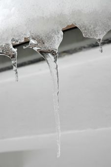 Free Icicles 6 Royalty Free Stock Photo - 450605
