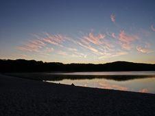 Free Sunrise Lake Mckenzie Australia Stock Images - 450814