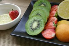 Free Fruit Platter Royalty Free Stock Photo - 451055