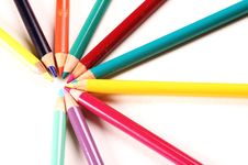Free Color Pencils Royalty Free Stock Images - 451469