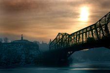 Free Alexandria Bridge Royalty Free Stock Image - 451516