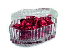 Free Glass Candy Box Stock Photography - 452202