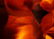 Free Antelope Canyon 02 Royalty Free Stock Photo - 453135