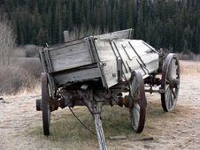 Old Buckboard Wagon Stock Photography
