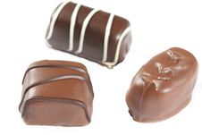 Free Dewey Chocolates Closeup2 Royalty Free Stock Photography - 455457