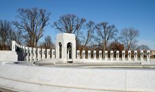 Free World War II Memorial - Washington, DC Royalty Free Stock Photography - 455907