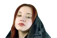 Free Red Riding Hood (clipping Path) Royalty Free Stock Image - 456616