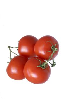 Free 0674 Isolated Red Greenhouse Tomatoes Stock Photos - 459093