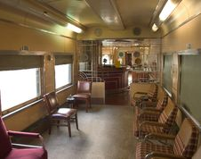 Free Old Train Interior Royalty Free Stock Image - 459466