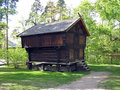 Free Old Scandinavian Farm House Stock Photography - 4507182
