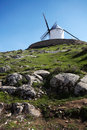 Free Spanish Windmill On A Hill Royalty Free Stock Images - 4508749