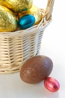 Free Easter Eggs Royalty Free Stock Photo - 4500265