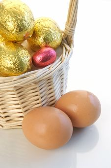 Free Easter Eggs Stock Image - 4500441