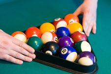 Free Color Billiards Balls Stock Image - 4500531