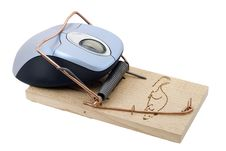 Free Trapped Mouse Stock Photos - 4501583