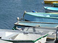 Row Boats Royalty Free Stock Photography