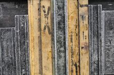 Free Metal And Wood Texture Stock Image - 4501901